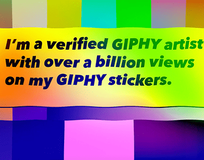 GIPHY sticker GIF animations