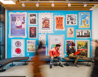 SVA Magnetic Poster Wall