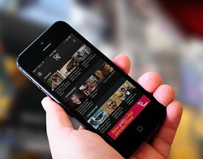 App iPhone Trip Magazine