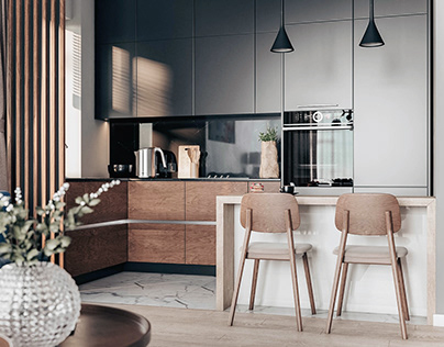 Дизайн-проект трехкомнатной квартиры в ЖК «Наследие»