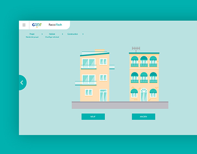 Raccotech, a tool for architects