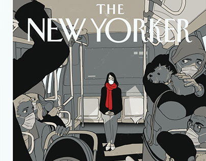 """""""Rosa Park"""" New Yorker Cover Concept"""