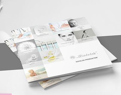 Ziołolek product catalogue | design refreshing