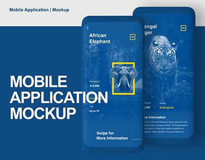 Mobile Application | Mockup