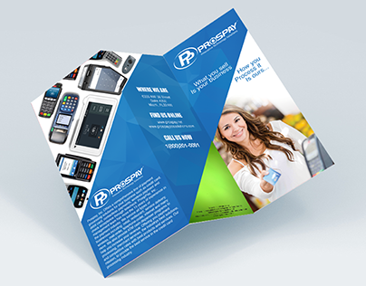 ProsPay Trifold / Brochure design
