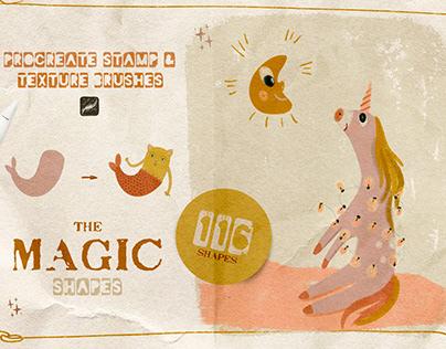 Procreate Magic Shapes & Brushes FREE
