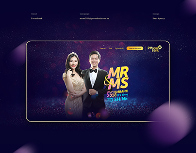 Landing page Mr&Ms 2018 - PVcomBank