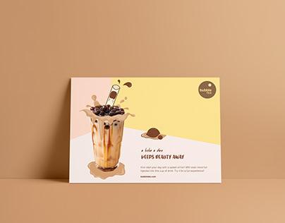 Bubble Tea Print Ad
