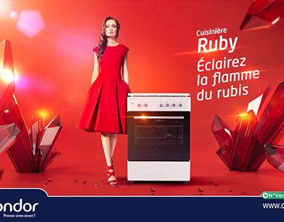 Stove Ruby - Condor