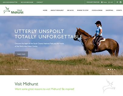 Visit Midhurst Website Design