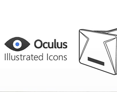 Oculus Rift Illustrated Icons