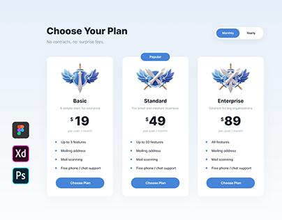 Pricing Plan UI 02