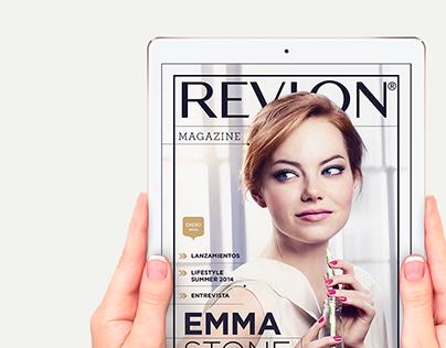 Revlon – Digital Magazine