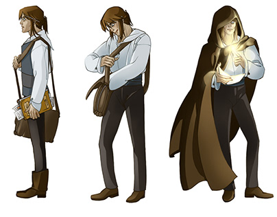 THE ESCORT/PRATNJA - character design for the book