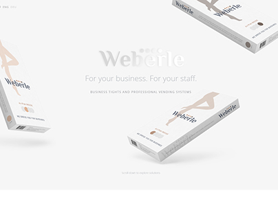 Weberle website design