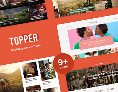 TOPPER - Ultimate One-Stop WordPress Blog Theme