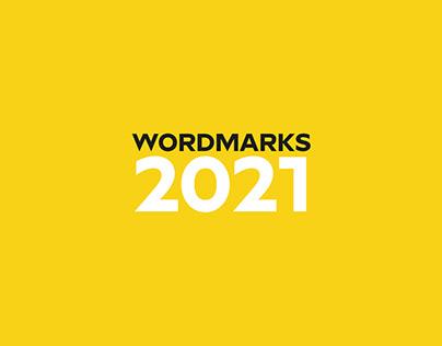 Wordmarks 2021