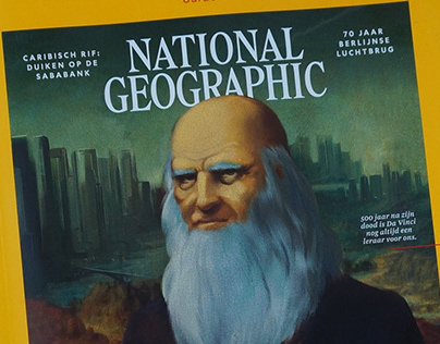 National Geographic Cover 'Da Vinci'