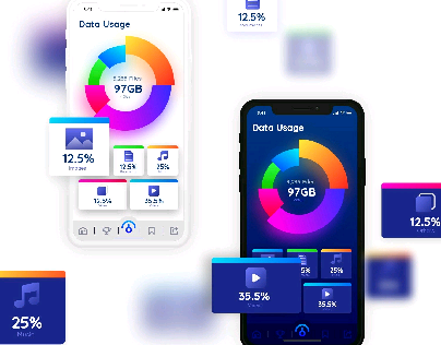 Data Usage App Screen