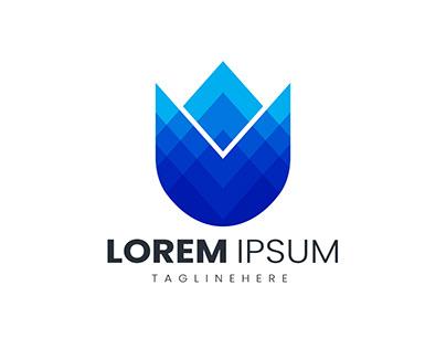 Colorful logo design Premium Vector