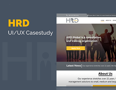 HRD Casestudy Web page