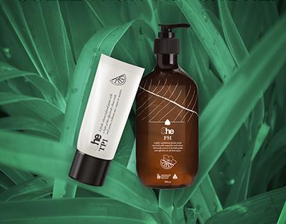 SHE/HE - cosmetics packaging design
