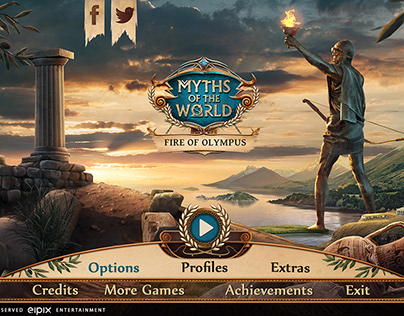 UI for MythsOfTheWorld - Fire of Olympus