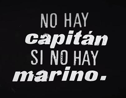 No hay capitán si no hay marino - Video Lyric