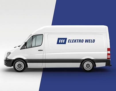 Elektro WELO – Logo für Handwerksbetrieb