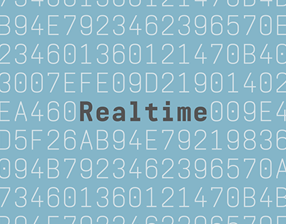 Realtime Typeface
