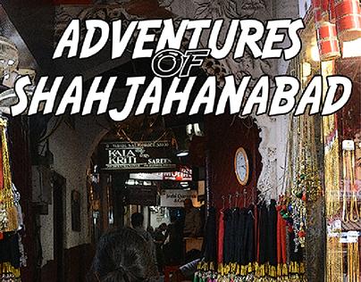 Comic design, Adventures of Shahjahanabad