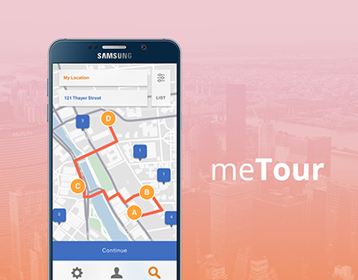 meTour Travel App