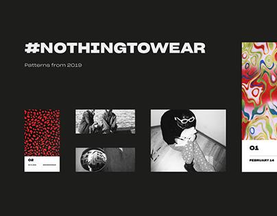 #Nothingtowear - 2019