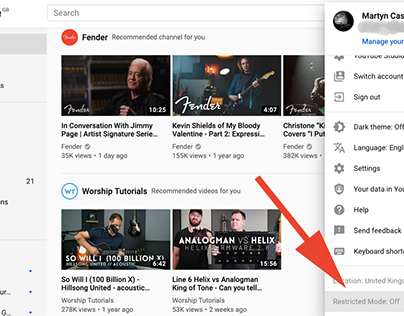 How to Set Up and Use YouTube's Parental Control