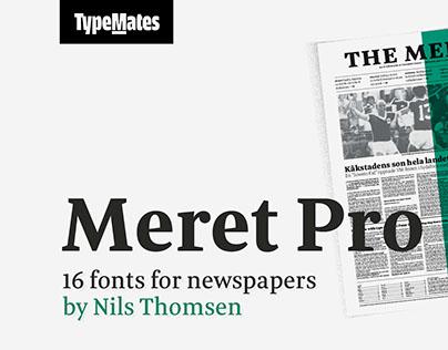 Meret Pro Font