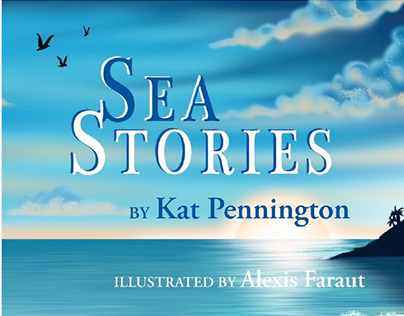 Sea Stories Book Illustration