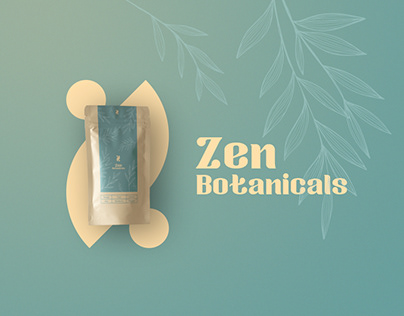 Zen Botanicals Tea packaging