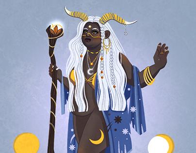 Shamans | character illustration