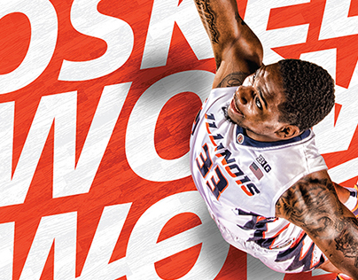 2016-17 Fighting Illini Basketball Creative