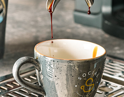 Social Coffee - Food commercial photography