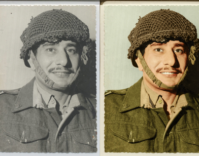 Colorization of my uncle