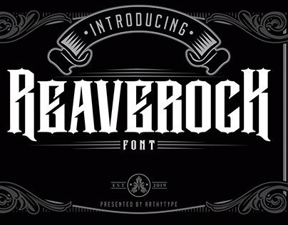 Reaverock Gothic Font