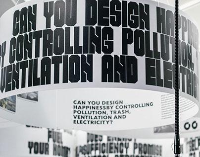 'Closed Worlds,' Exhibition Design