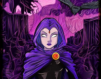 Raven Teen Titan - Fan Art