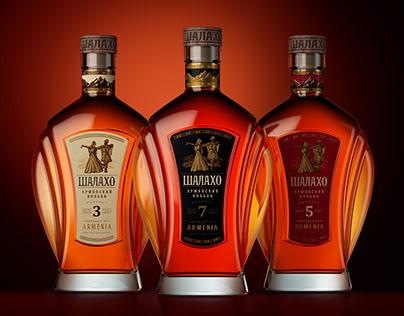 SHALAKHO Armenian cognac