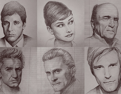 Pencil and Pen Drawings