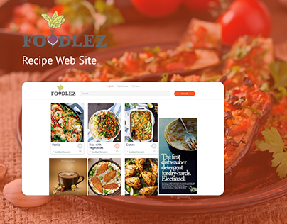 Foodlez Recipe Web Site