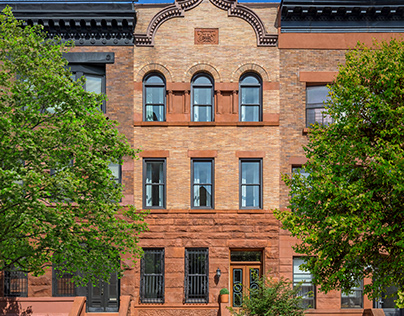 Double-Hung Windows Brownstone Beauty Photography