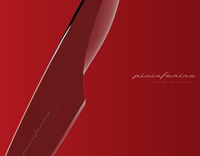 Pininfarina concept kitchen knife