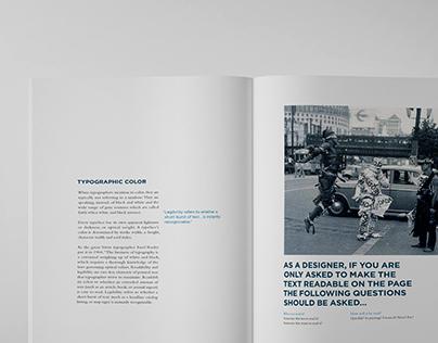 Type Zealot | Book Design
